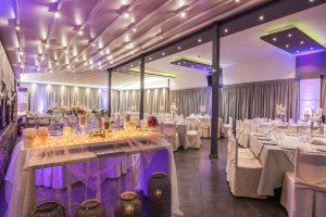 hall ballroom tables